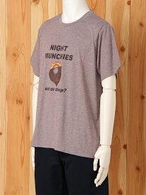 gelato pique[HOMME] [HOMME]NIGHT MUNCHIES Tシャツ ジェラートピケ インナー/ナイトウェア【送料無料】