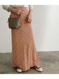 【SALE/10%OFF】ROPE' mademoiselle ヴィンテージフラワーマーメイドスカート ロペ スカート スカートその他 ブラウン ブラック レッド【送料無料】