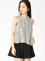 (W)STARRY TOP SEQUIN ILLUSION