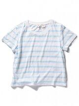 サーフTシャツ-AVALON MARSHMALLOW/BLUE Stripe