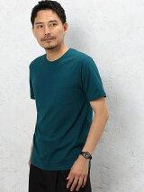 CM ◎GIZA ポケット C/N S/S Tシャツ