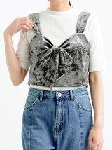 #ベロアキャミセットTシャツ