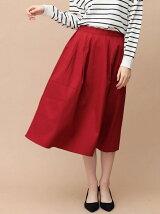 タックカラースカート