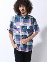ビッグチェックシャツSS