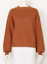 VOLUME SLEEVE M/N KNIT