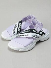 【SALE/76%OFF】adidas Originals (W)MAGMUR SANDAL W アディダス シューズ サンダル/ミュール パープル ブラック