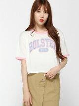 【JUNIOR SWEET】(L)サガラワッペンリンガーTシャツ