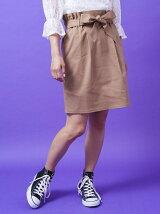 台形カラースカート
