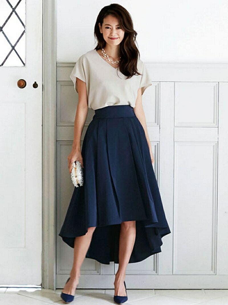 【SALE/39%OFF】Dress Lab Dress Lab/セットアップフレアドレス クリーム ビジネス/フォーマル【RBA_S】【RBA_E】【送料無料】