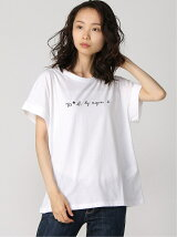 To b. by agnes b. /(W)W984 TS ロゴ Tシャツ