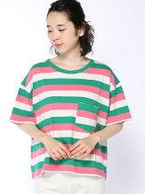 マルチボーダーBig Tシャツ