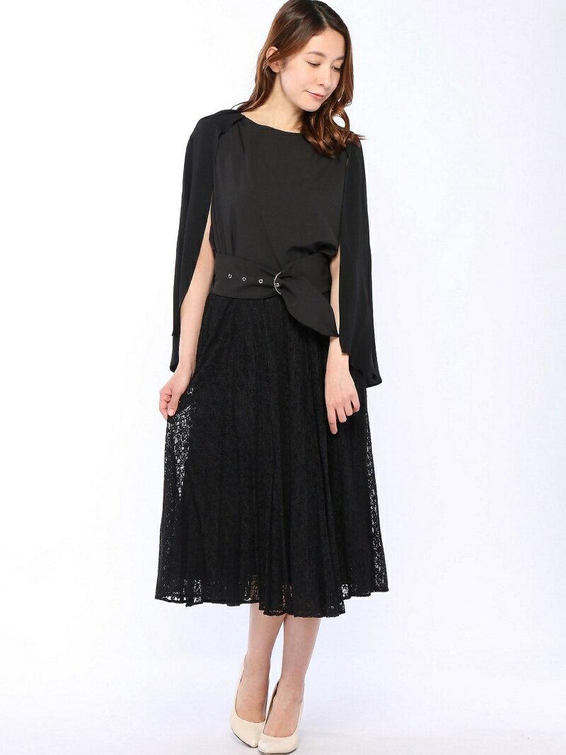 【SALE/36%OFF】Dress Lab Dress Lab/アンブレラプリーツセットアップ クリーム ビジネス/フォーマル【RBA_S】【RBA_E】【送料無料】