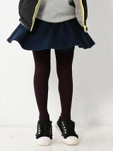 【coen キッズ / ジュニア】【のびるよストレッチ】デニムスカパン/キュロットスカート/スカッツ(100〜150cm)