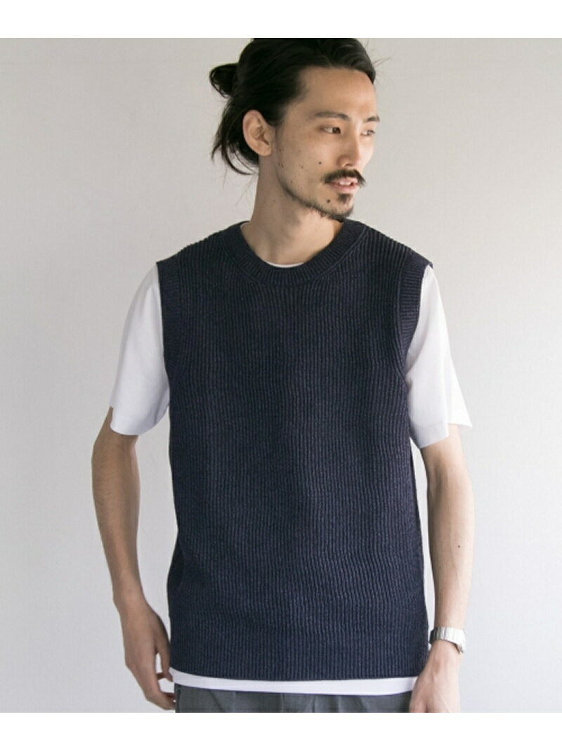 URBAN RESEARCH Vincent et Mireille COTTON VEST アーバンリサーチ カットソー【送料無料】