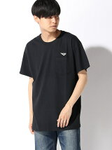 PONY/(U)CHEVRON WP POCKET tee