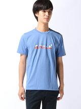 (M)[メンズ] 吸汗速乾 エーグルロゴプリントTシャツB