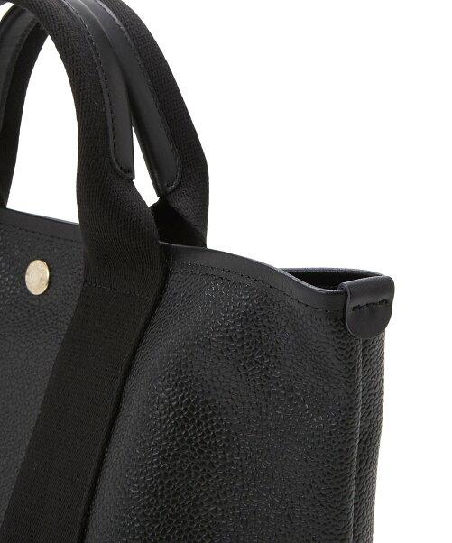 TOPKAPI BREATH/(W)スコッチグレイン ネオレザー トート バッグ ショルダー付き M