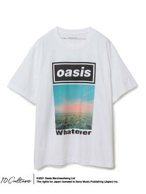 ADAM ET ROPE' 【10 Culture*Oasis】T-SHIRTS/オアシス アダムエロペ カットソー カットソーその他 ホワイト ブラック【送料無料】
