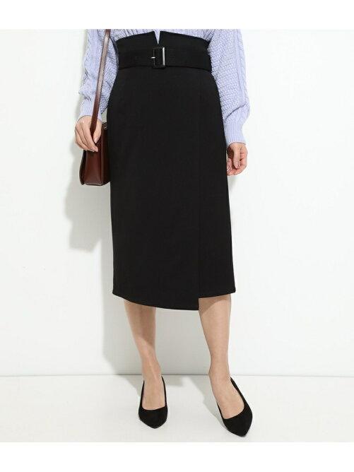 【ドラマ着用】ハイウエストIラインスカート