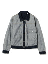 LEVI'S(R) × BEAMS / 別注 Inside Out Trucker jacket