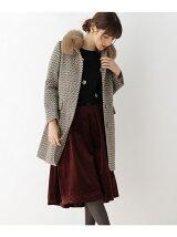 【WEB限定・Lサイズあり】ファー衿ロングコート