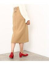 ダブルクロスミモレタイトスカート