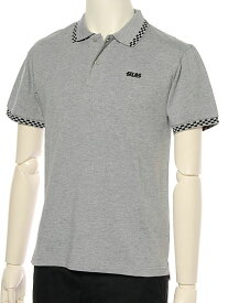 【SALE/40%OFF】SILAS SILASKINZ POLO アウトレット カットソー ポロシャツ グレー レッド ブラック【送料無料】