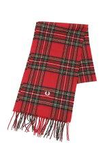 (M)Royal Stewart Tartan Scarf Red