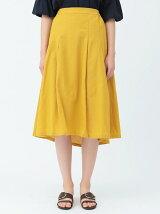 綿麻フレアスカート