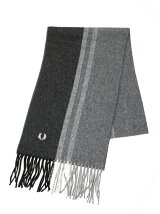 (M)TIPPED WOVEN SCARF