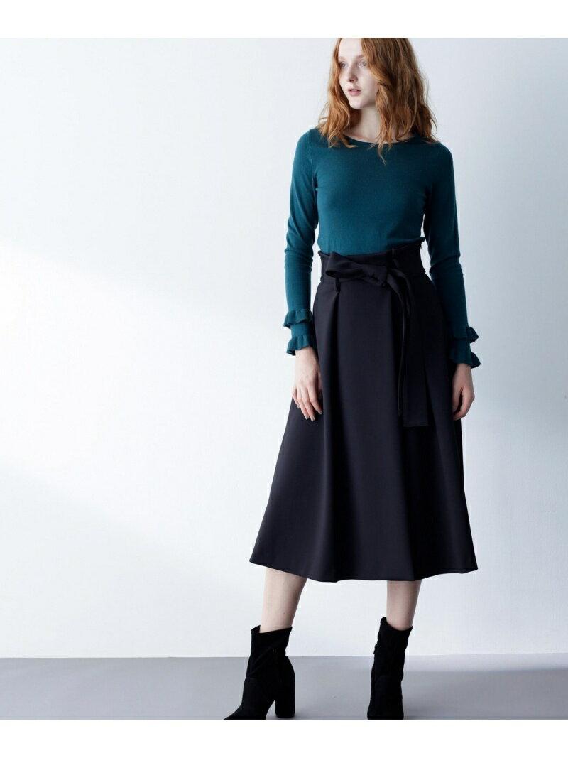 【SALE/40%OFF】GRACE CONTINENTAL フレアラップスカート グレースコンチネンタル スカート【RBA_S】【RBA_E】【送料無料】