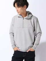(M)ZIP NECK HOODED