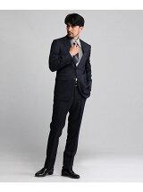 絣縞スーツ