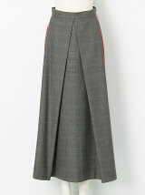 SIDE LINE SKIRT PLAID