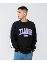 PANELED CREWNECK SWEAT