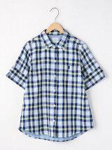 ライトダブルガーゼボタンダウンシャツ