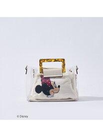 LOWELL Things ●【LOWELL限定/Disneyデザインアイテム】4WAYビニールショルダー ロウェル シングス バッグ ショルダーバッグ ホワイト ブラック【送料無料】