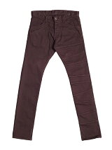 COTTON TWILL CHANGE SKINNY PANTS
