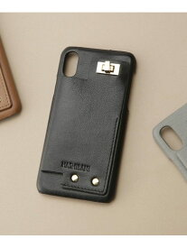 【SALE/40%OFF】Hashibami カウンターiPhoneX,XSケース ナノユニバース 生活雑貨 生活雑貨その他 ブラック ブラウン グレー