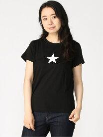 agnes b. FEMME FEMME/(W)ST69 TS エトワールTシャツ アニエスベー カットソー Tシャツ ブラック ホワイト【送料無料】