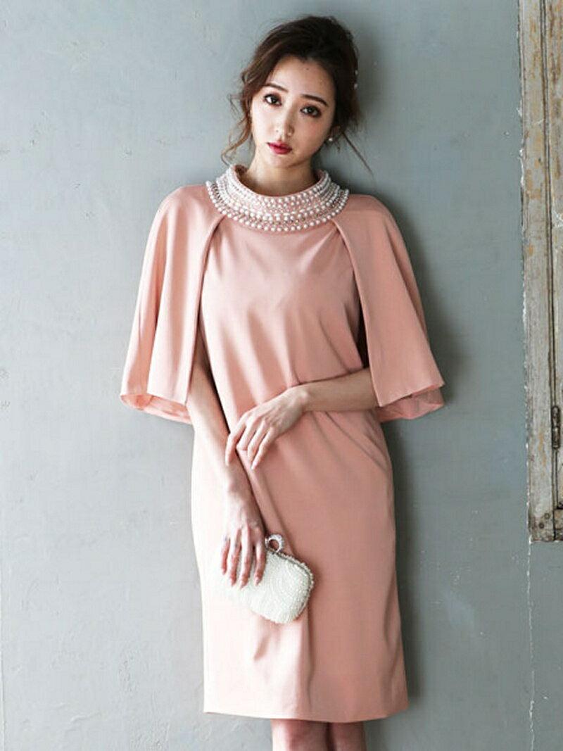 【SALE/40%OFF】Dress Lab Dress Lab/パールビジュ付ワンピース クリーム ワンピース【RBA_S】【RBA_E】【送料無料】