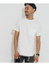 Stretch Linen CREW-NECK T-SHIRTS