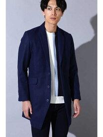 【SALE/50%OFF】TORNADO MART BLUE TORNADO∴タイトシルエットチェスターコート トルネードマート コート/ジャケット コート/ジャケットその他 ネイビー グレー ベージュ レッド【送料無料】