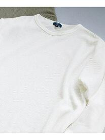 【SALE/66%OFF】ITEMS ワッフル長袖Tシャツ アーバンリサーチアイテムズ カットソー【RBA_S】【RBA_E】
