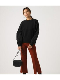 【SALE/50%OFF】AZUL by moussy SLEEVETUCKSWEATTOPS アズールバイマウジー カットソー カットソーその他 ブラック ホワイト パープル