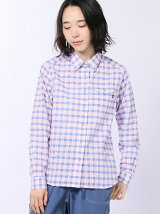 (W)WS QD BLOCK CHECK L/S Shirt