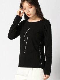 agnes b. FEMME FEMME/(W)SE30 TS Tシャツ アニエスベー カットソー Tシャツ ブラック ホワイト【送料無料】