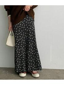 ROPE' mademoiselle ヴィンテージライクフラワーマーメイドスカート ロペ スカート スカートその他 ブラック ブラウン グリーン パープル ピンク【送料無料】
