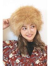 フェイクファーロシアン帽