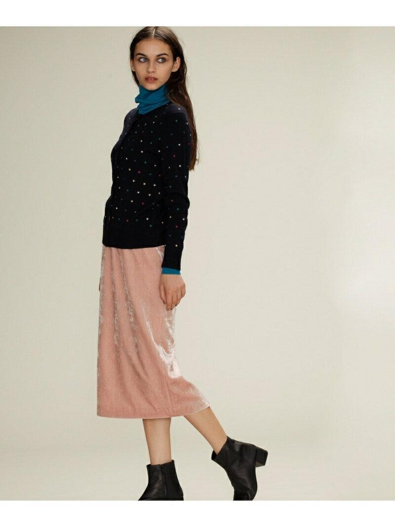 【SALE/60%OFF】GRACE CONTINENTAL ベルベットタイトスカート グレースコンチネンタル スカート【RBA_S】【RBA_E】【送料無料】
